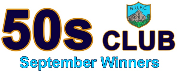 50s Club: September Winners